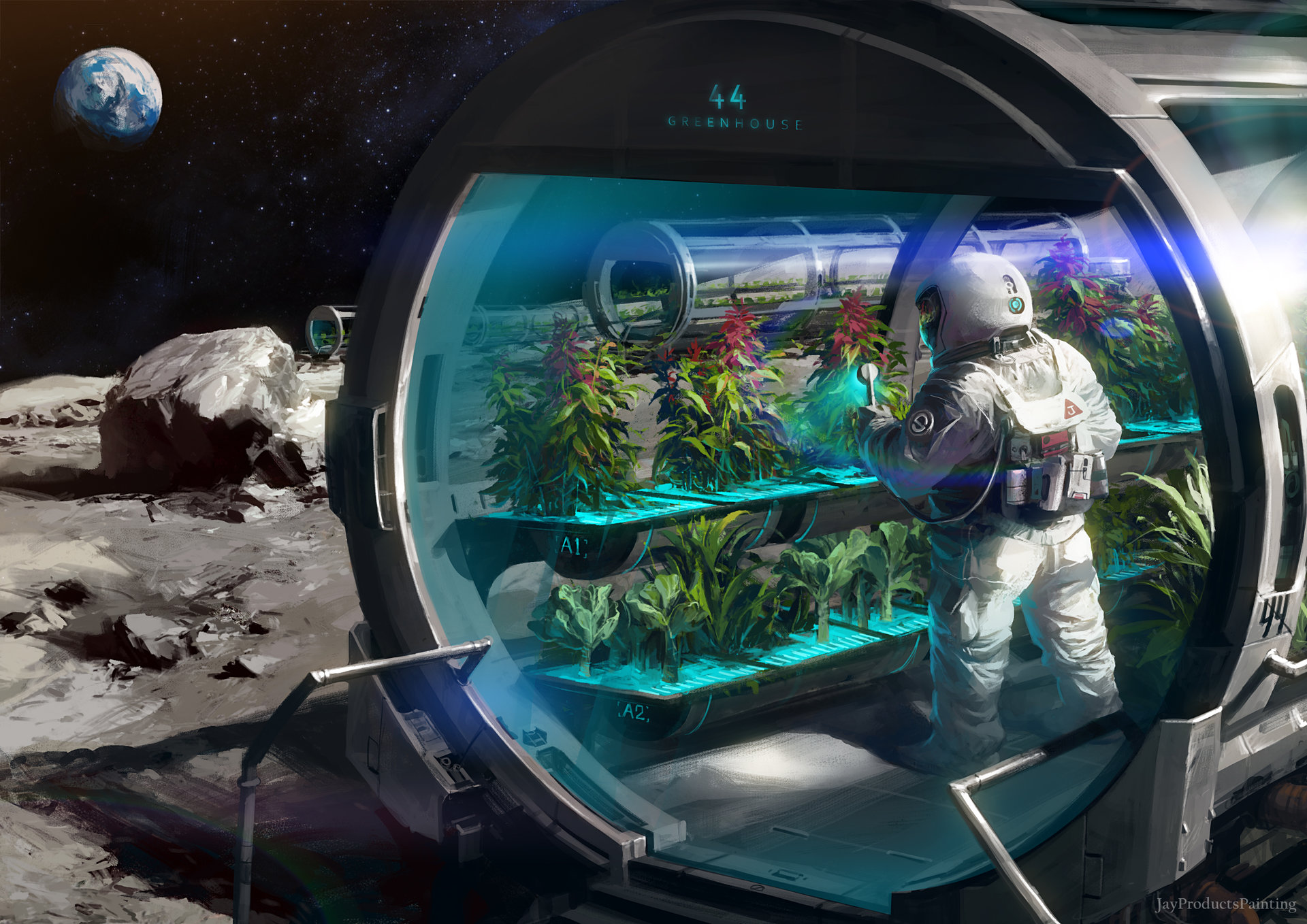 Class 6 –  Space Food & Space Agriculture